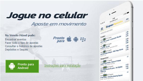 SuperAposta celular