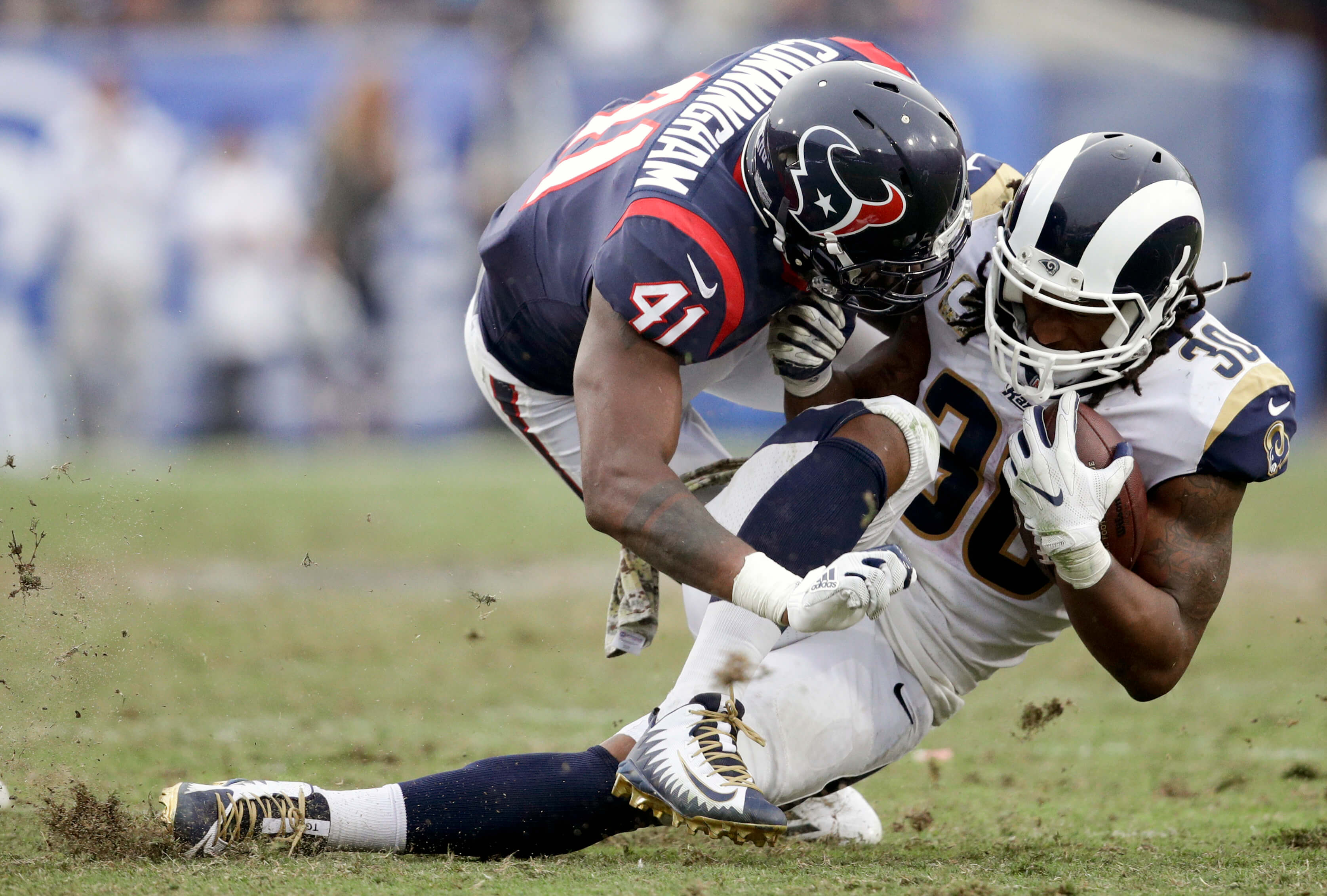 APTOPIX Texans Rams Football