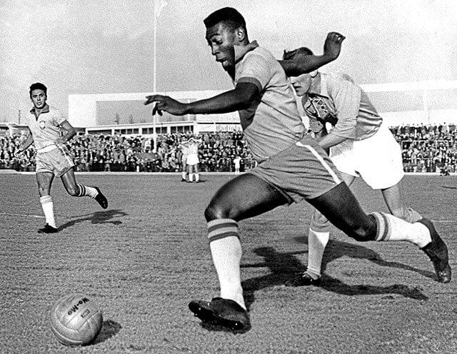 Pelé no ano 1960