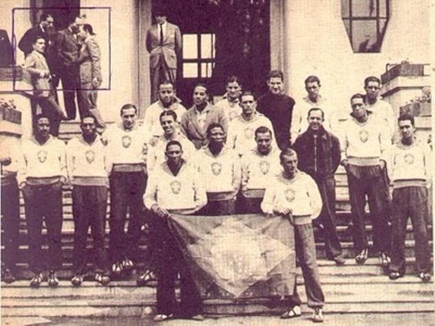 selecao brasileira 1938