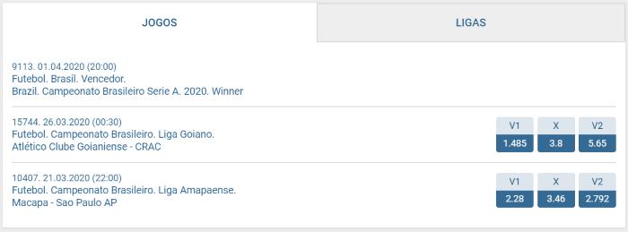 1xbet Brasileiro