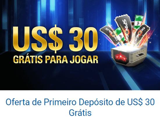 PokerStars Casino Bônus de Primeiro Depósito