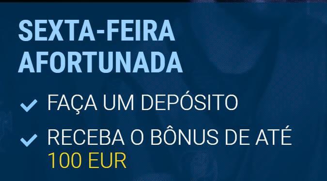 Bônus de sexta-feira 1xBet: Veja como ganhar 100 euros