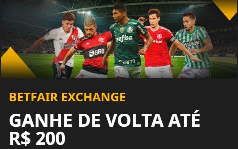 Bônus Betfair Exchange