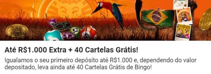 LeoVegas Bingo Bônus